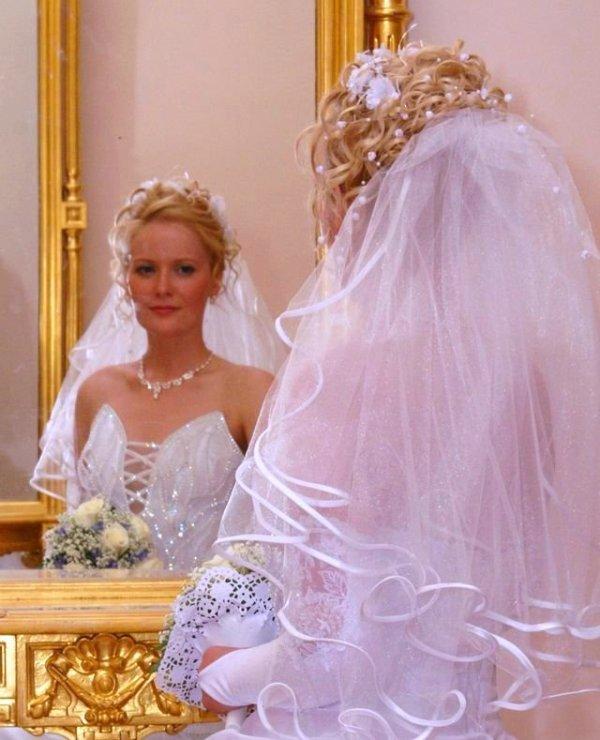 Свадебная прическа - цена может расстроить жениха