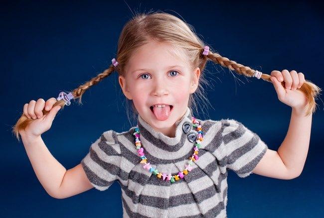 Детские прически на средние волосы, советы для мам