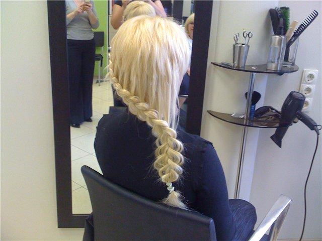 Прическа «Французская коса»