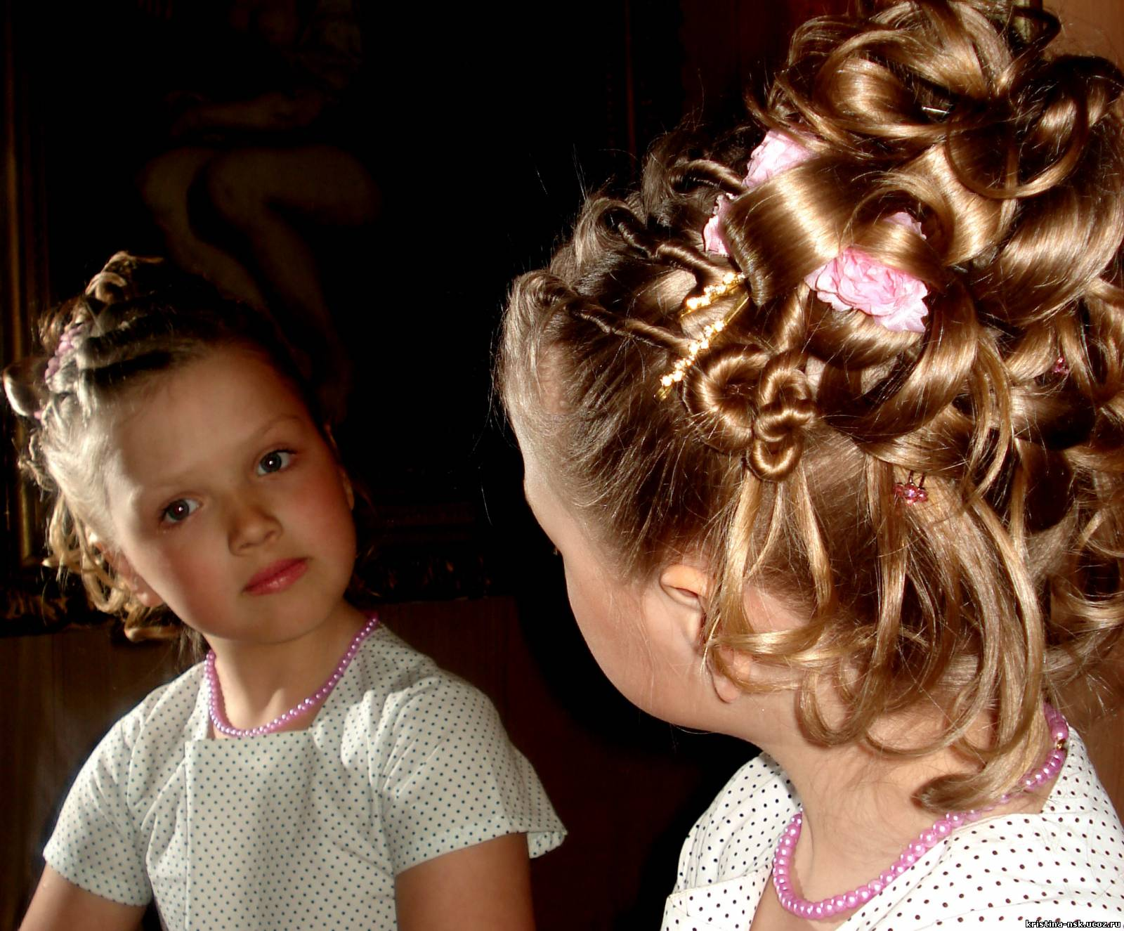 Увлекательные игры для девочек: Сделай прическу
