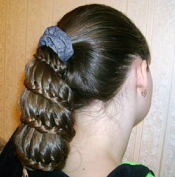 Прически на длинные волосы - косы