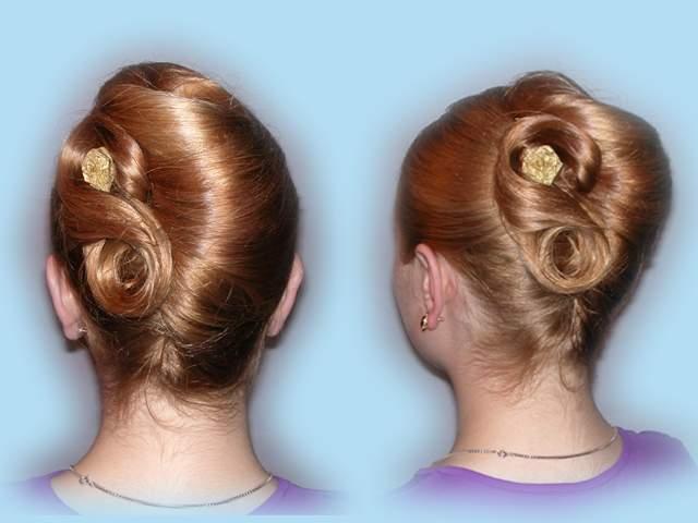 Оригинальные и красивые прически на средние волосы