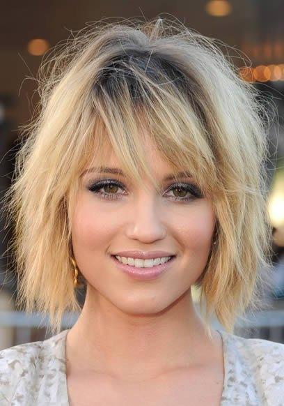 Стильные прически на средние волосы 2013 года